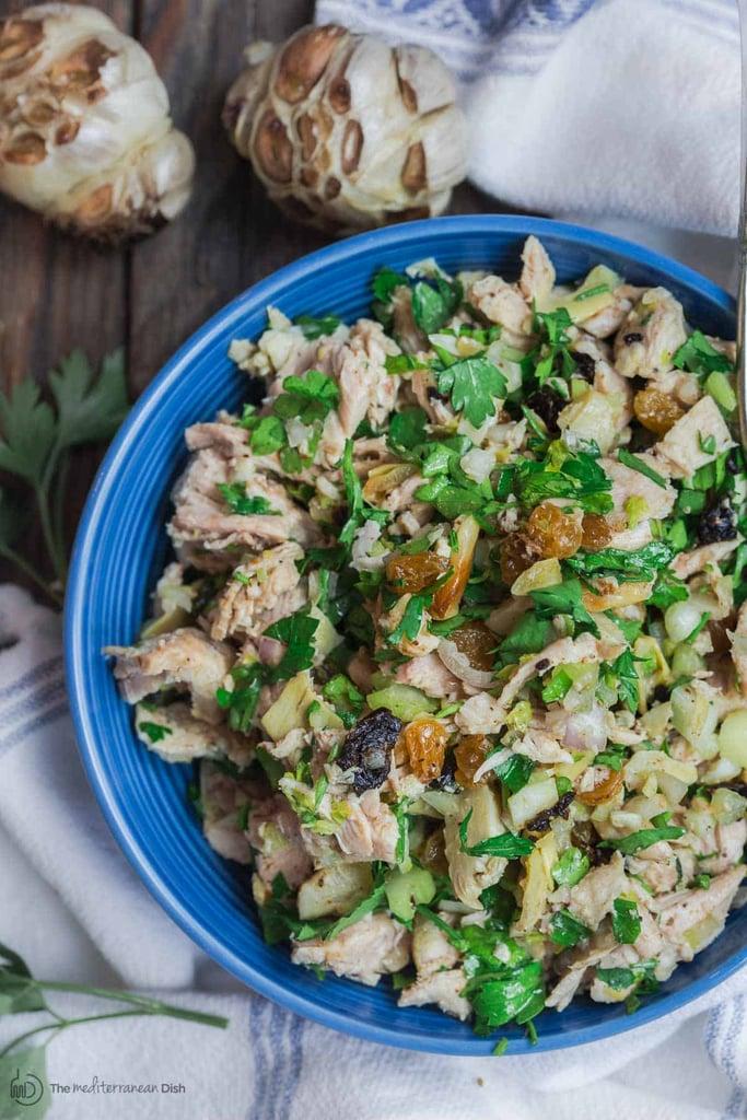 Healthy, Mediterranean-Style Chicken Salad