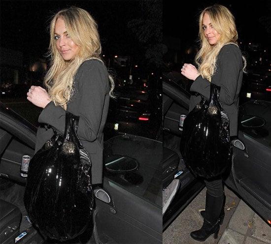 Lindsay Lohan Out in LA 2008-04-02 10:00:45