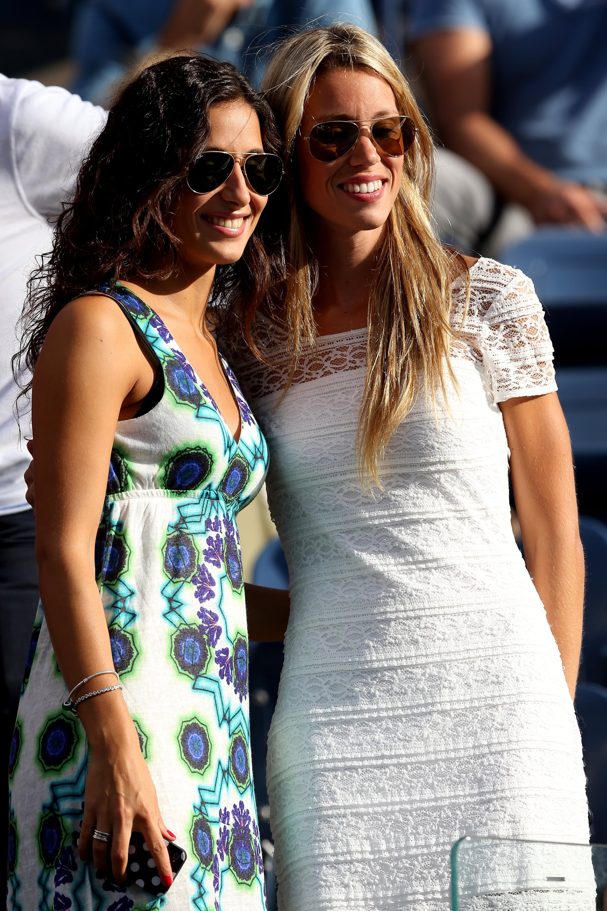 Rafael Nadal S Girlfriend Xisca Perello Posed For A Photo With His Celebrities At The 2013 Us Open Popsugar Celebrity Australia Photo 4