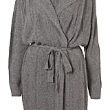 Topshop Gray Cable Angora Mix Robe ($125)