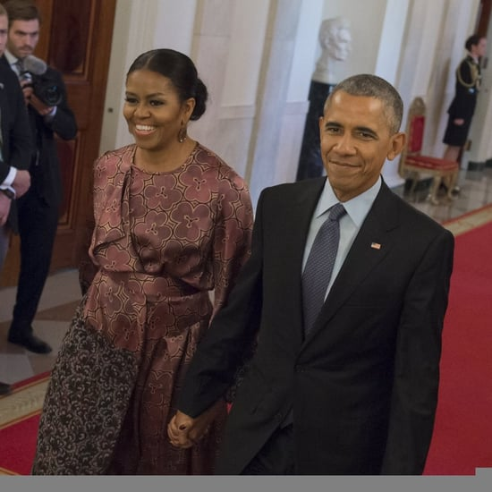 Michelle Obama Dries Van Noten Dress Medal of Freedom 2016