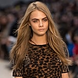 February 2013: Autumn Winter London Fashion Week Burberry Prorsum