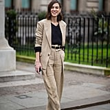 That Suit! Those Chanel Sandals! Alexa Chung Is on to Something Here . . .