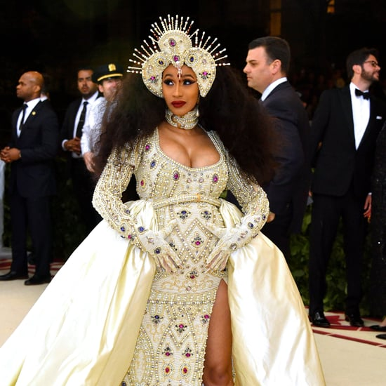 Cardi B Hair and Makeup at 2018 Met Gala