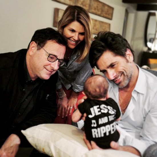 John Stamos Introducing His Son to Full House Costars Photo