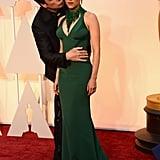 When John Travolta got creepy with Scarlett Johansson on the red carpet.