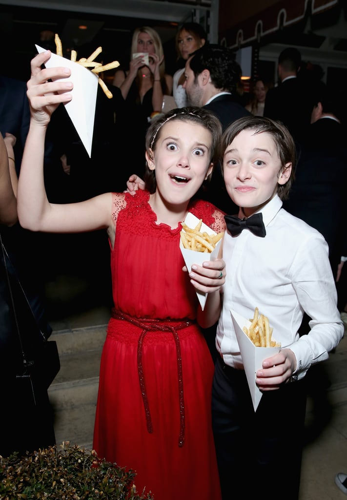They Celebrated the Win With — What Else? — French Fries!