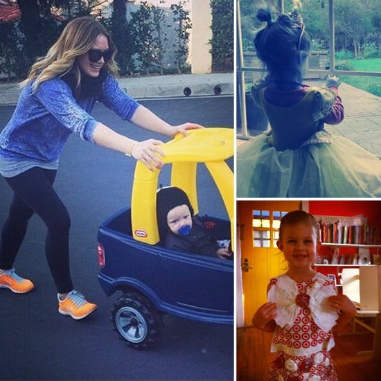 Celebrity Moms' Instagram Pictures Week of Jan. 27, 2013
