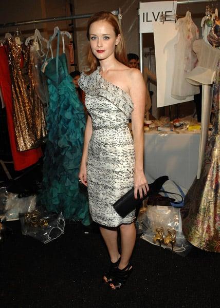 Celebrities at 2011 Spring New York Fashion Week in September