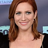 Brittany Snow With Spicy Ginger Hair