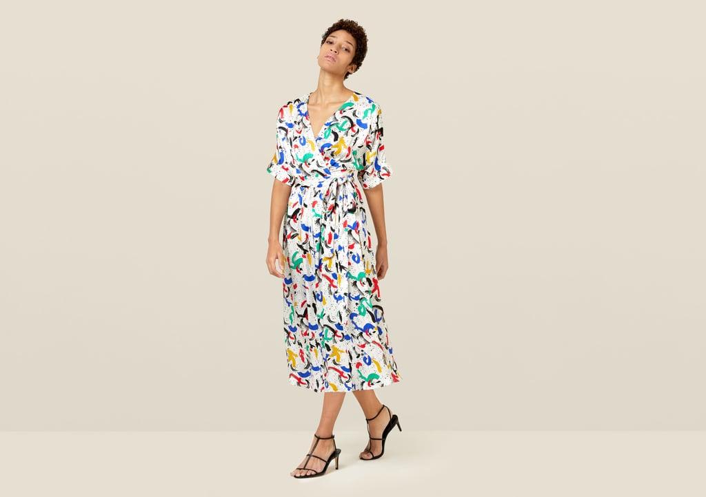 Finery Sabine Wrap Dress