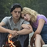 Cole Sprouse and Lili Reinhart as Jughead and Betty