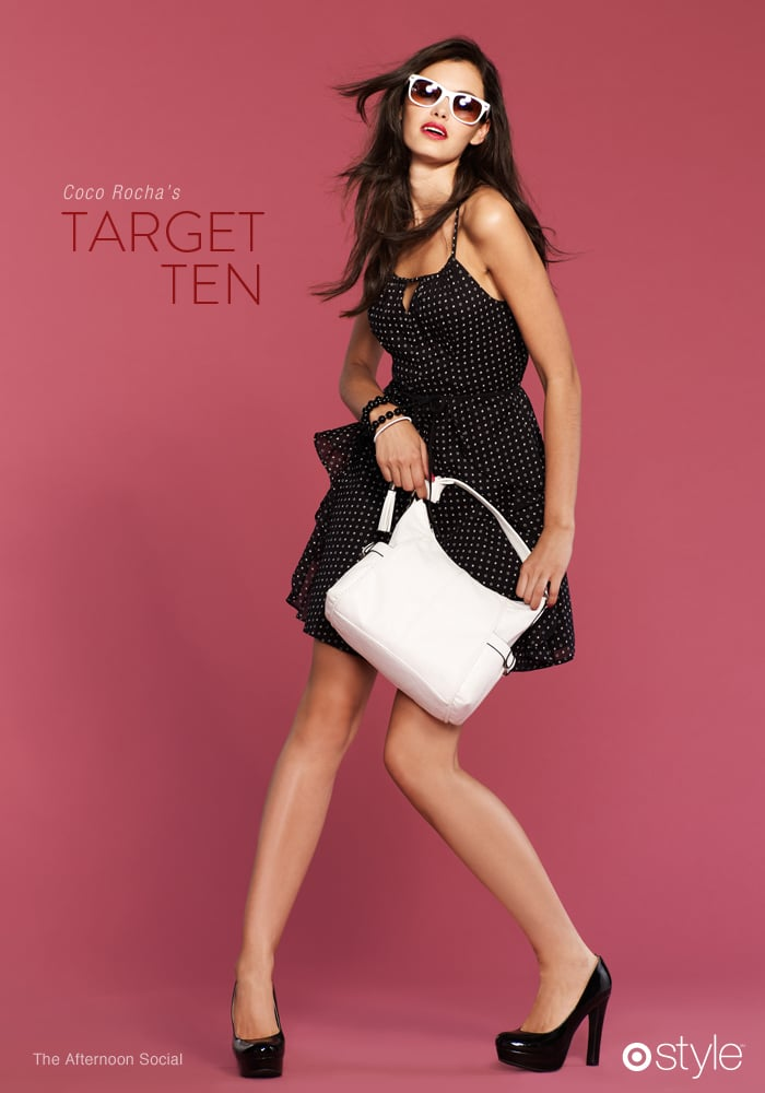 Coco Rocha Guest Edits For Target