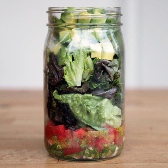 Satisfy Chips and Guac Cravings With This Mason Jar Salad