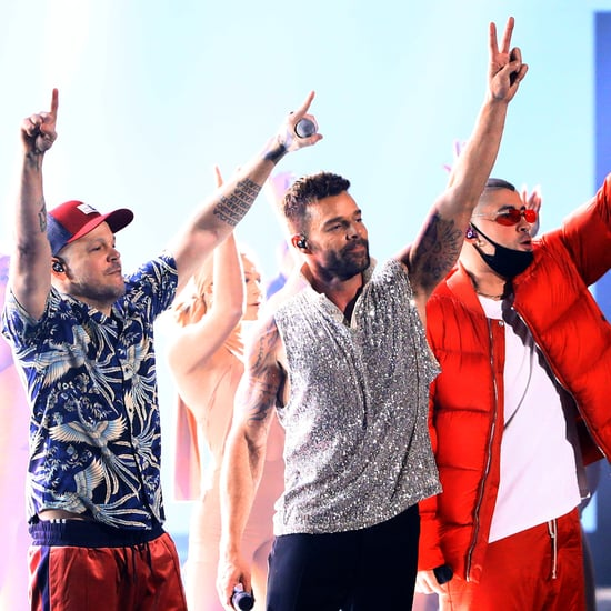 Ricky Martin, Residente, and Bad Bunny at Latin Grammys 2019