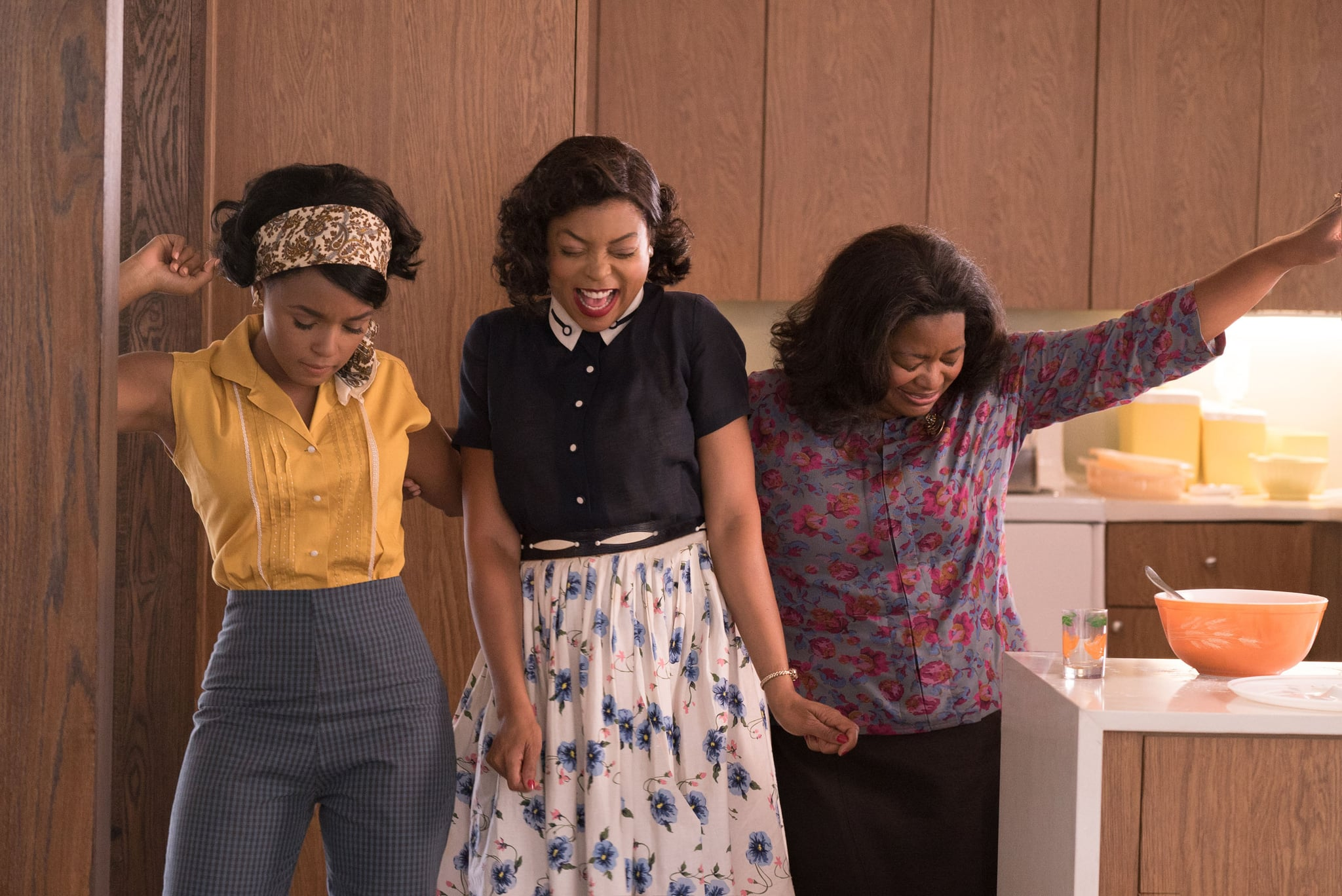 HIDDEN FIGURES, from left: Janelle Monae, Taraji P. Henson, Octavia Spencer, 2017. ph: Hopper Stone /TM and  copyright Fox 2000 Pictures.  All rights reserved./Courtesy Everett Collection