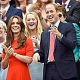 Days Later, Kate and Prince William Popped Up in Prime Seats at Wimbledon