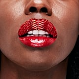 Lip Art Created Using the Crimson Chrome Shade