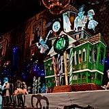Haunted Mansion Gingerbread Display at Disneyland
