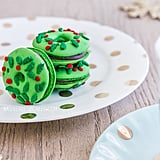 Christmas Wreath Macarons