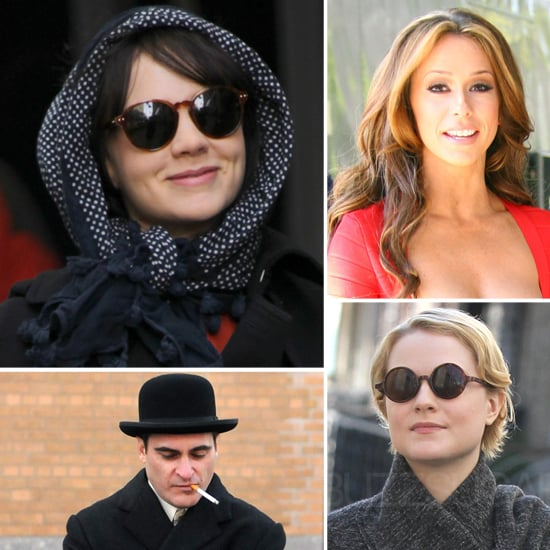 Pictures of Celebrities on Set For the Week of February 24, 2012