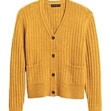 Aire Cropped Cardigan Sweater