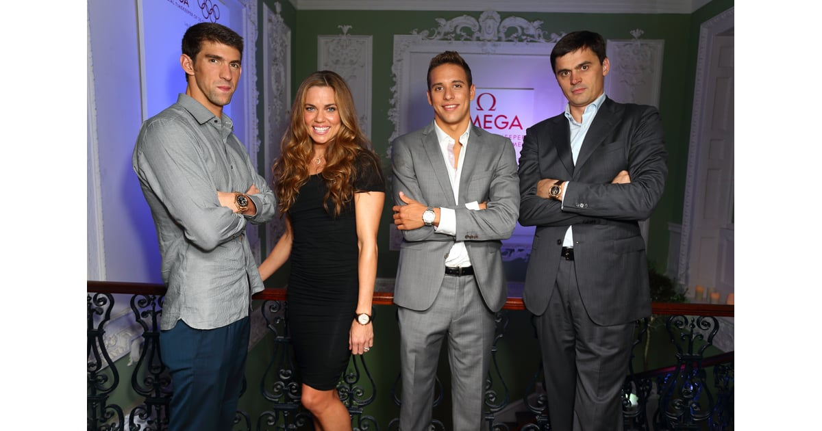   Michael Phelps Parties With Swimming Pals in London ...