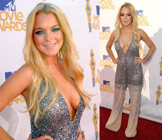 Pictures of Lindsay Lohan at 2010 MTV Movie Awards