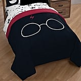 Harry Potter Glasses & Lightning Bolt Comforter