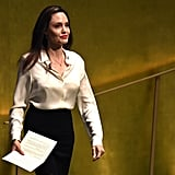 Angelina Jolie at the United Nations March 2019