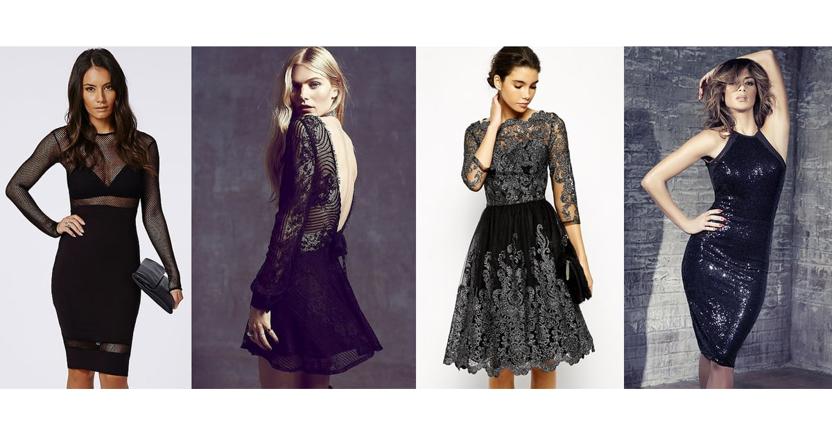 The Best Little Black Party Dresses | POPSUGAR Fashion UK