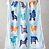 Anthropologie Zodiac Companion Tea Towel ($18)
