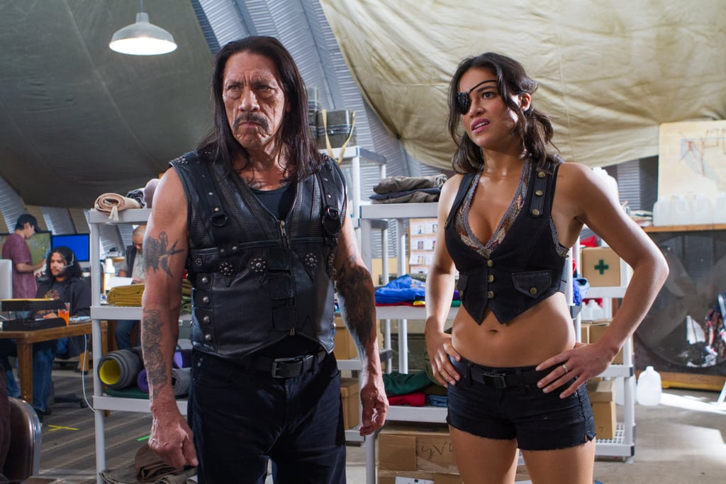 Danny Trejo and Michelle Rodriguez in Machete Kills. Source: Open Road Films