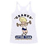 Uranus Lifting Team Tank ($22, originally $29)