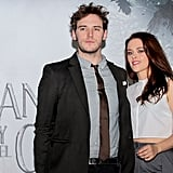 Kristen Stewart and Sam Claflin traveled to Mexico City for a photocall.