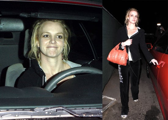 Britney Back at No. 1 and Behind the Wheel