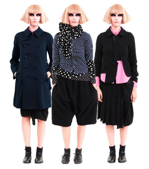 Comme des Garcons for H&M: Hardly Dotty