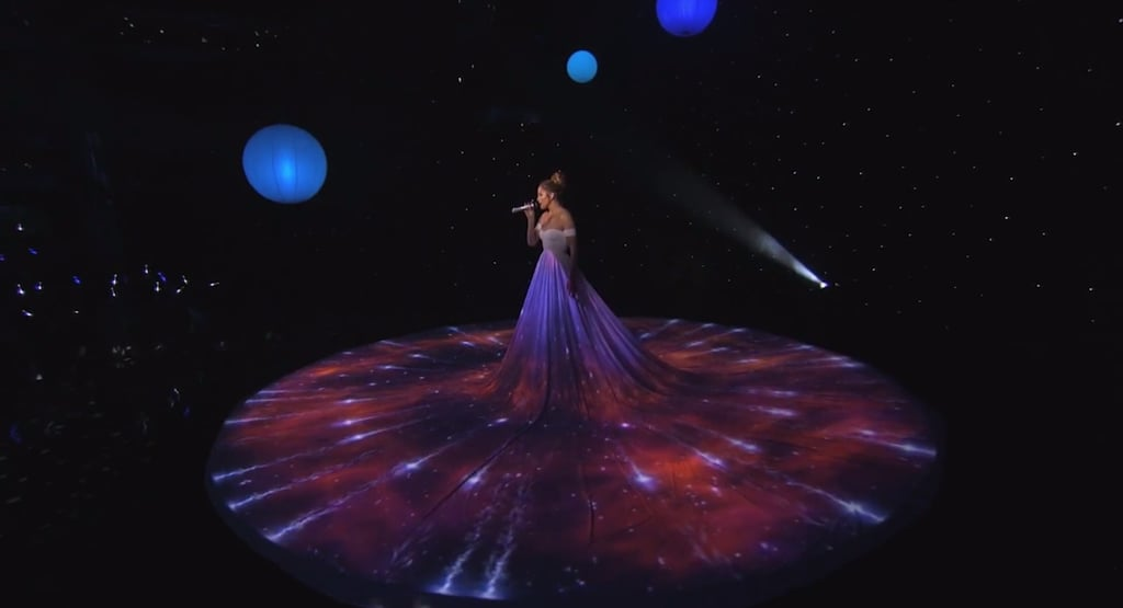 Jennifer Lopez's White Ball Gown on American Idol