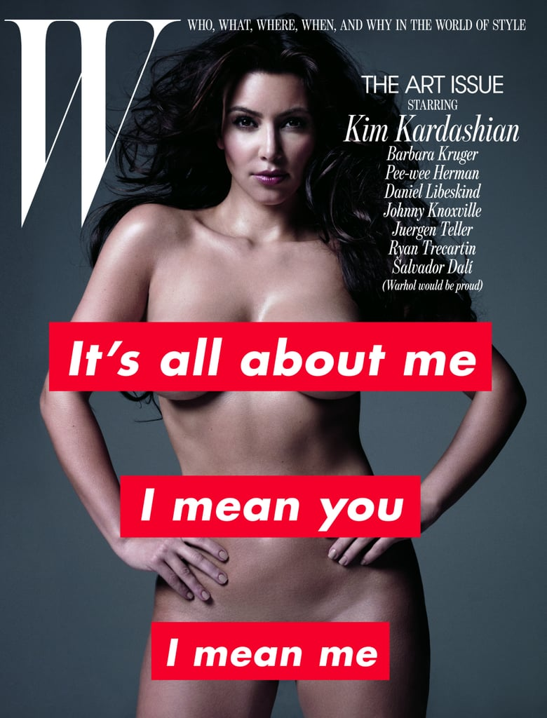 """Kim Kardashian nearly broke the Internet — again — when she posted a throwback photo of herself naked on Instagram earlier this year. While the reality star admitted that the snap is from 2015 (""""a year ago & 25 lbs less!""""), it wasn't long before the celebrity reactions poured in, with even Kim herself taking to social media to respond to the backlash over her nude body. It's likely that the world has not yet recovered from Kim's 2014 Paper magazine shoot, in which she revealed pretty much everything — and judging from the global response, you might think that this was the first time Kim publicly shed her clothes, but that is far from the case. Keep reading to see all the times Kim showed serious skin, including one photo shoot that caused her to vow to """"never get naked again."""" (Spoiler: she did!)  — Additional reporting by Maria Mercedes Lara"""