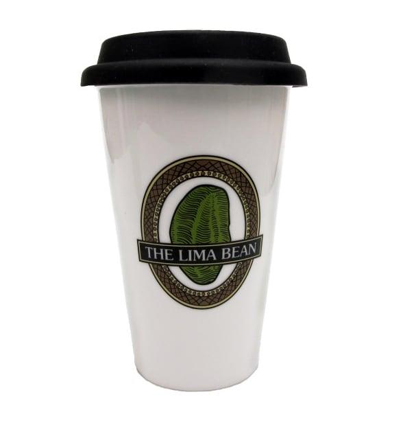 The Lima Bean Travel Mug ($25)