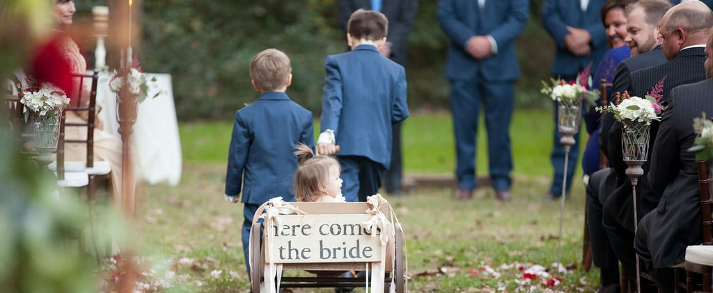 You Won't Believe What This Kid Did During an Important Moment of a Wedding