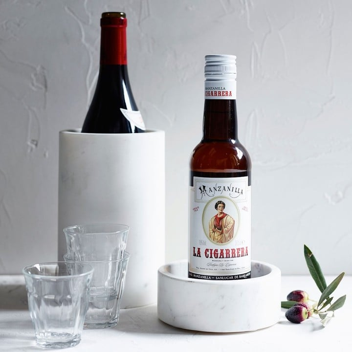 Williams-Sonoma Marble Wine Coaster ($20)