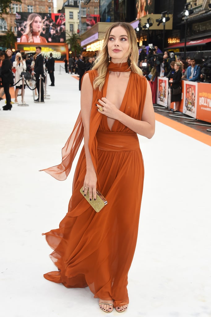 Margot Robbie at the UK premiere of Once Upon a Time in Hollywood.