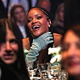 Rihanna at the British Fashion Awards 2019 in London