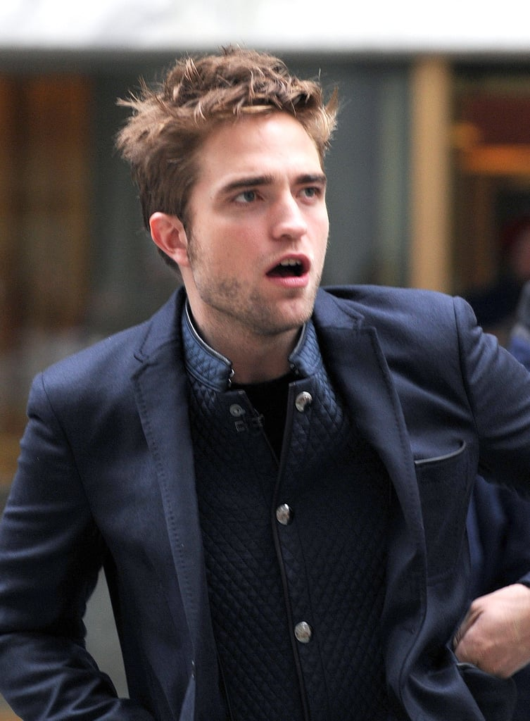 "Robert Pattinson Thinks His Nickname Sounds ""Like an Antacid Tablet"""