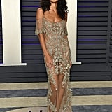 Raven Lyn at the 2019 Vanity Fair Oscar Party