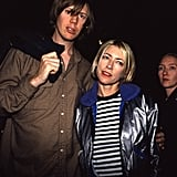 Thurston Moore and Kim Gordon