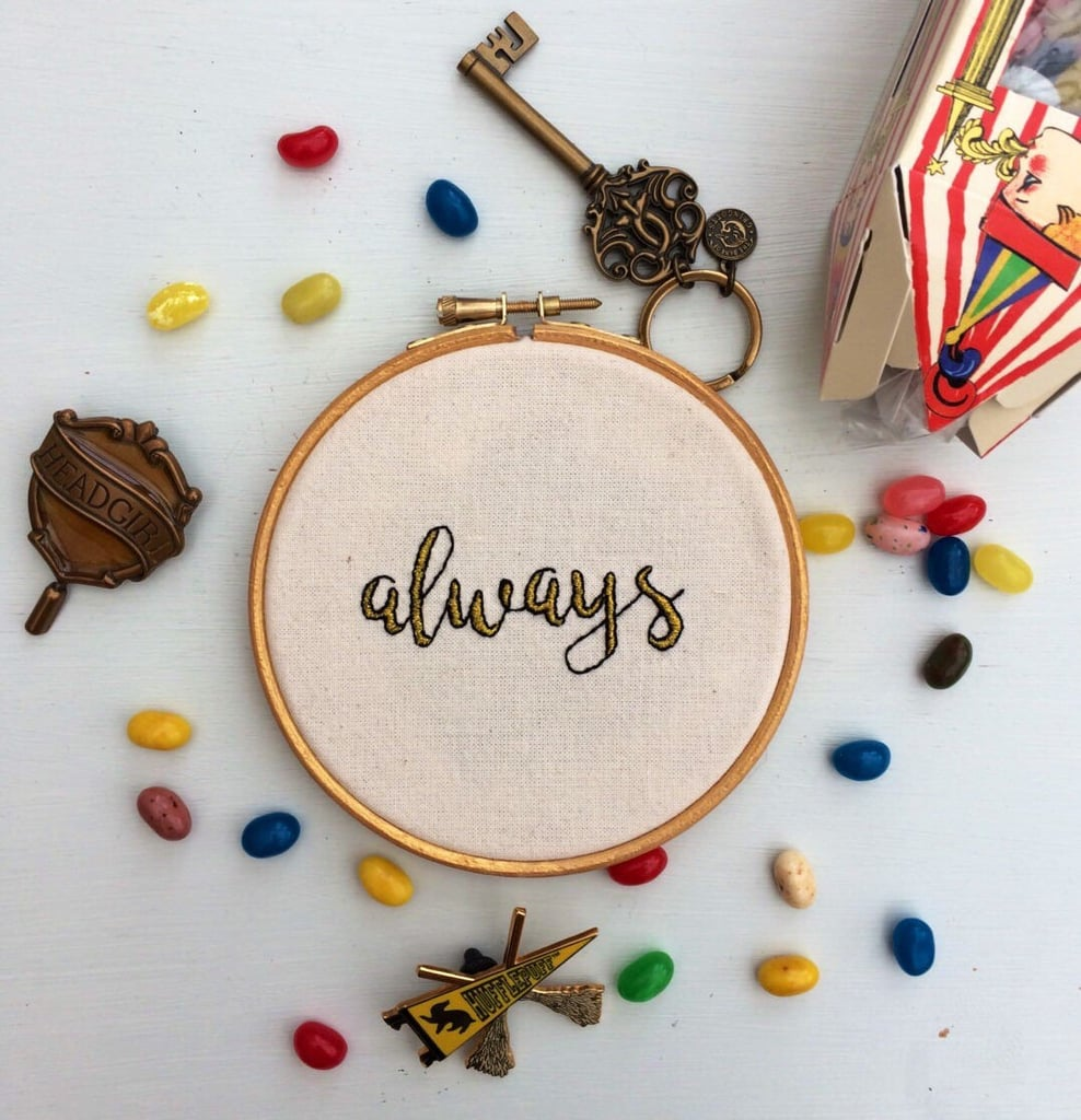Always Embroidery Hoop ($27)