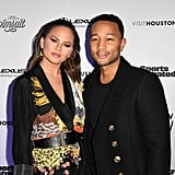 Chrissy Teigen Celebrates Her Sports Illustrated Gig With Proud Husband John Legend