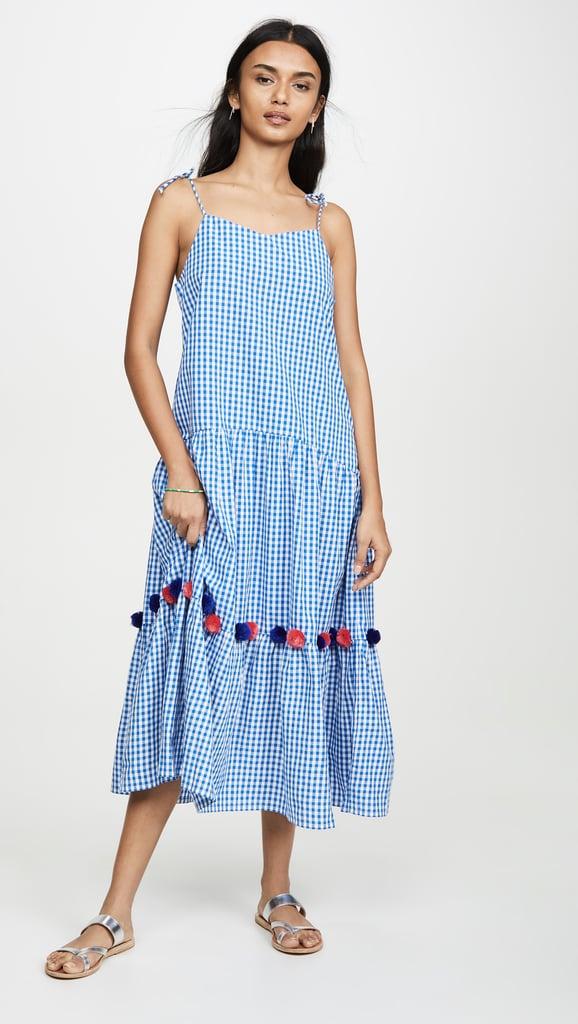 Kos Resort Gingham Dress